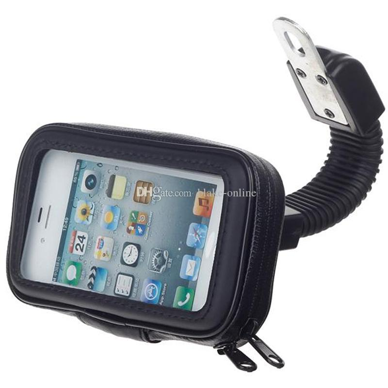 Waterproof Motorcycle Case Bag Car Motor GPS Navigation Mobile Phone Holder Stand for iPhone X 8 7 6S Plus