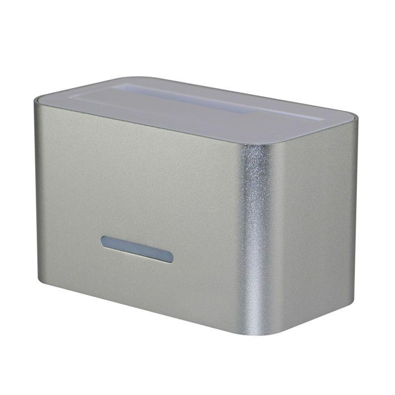 알루미늄 hdd 인클로저 데이터 복구 USB 3.0 5gbps 하드 디스크 캐디 2.5 SATA 하드 디스크 도킹 스테이션 4TB 3.5 인치 케이스 HD01U3