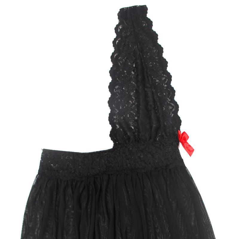 514a9d03e315 DESCRIPTION. Women Sexy Underwear Babydoll Lingerie Dress Red And Black Two  Color Plus Sizes S-5XL ...