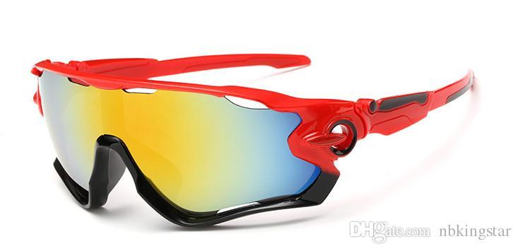 Gli occhiali da sole di estate calda di vendita degli uomini degli occhiali da sole all'aperto di sport di estate che guidano gli occhiali da sole 12pcs / lot