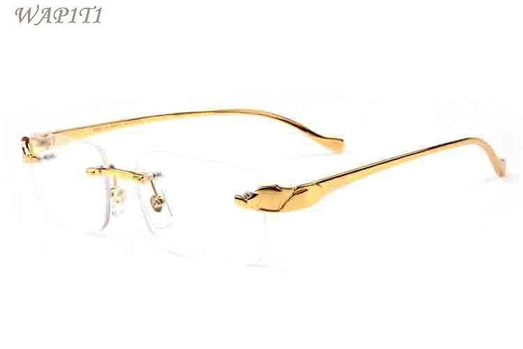 la mejor actitud f43d5 ae983 Compre Gafas De Sol De Lujo Para Hombres Marco De Metal Dorado Hombres  Gafas De Cuerno De Búfalo 2017 Gafas De Sol De Gafas De Diseño De Marca De  Moda ...