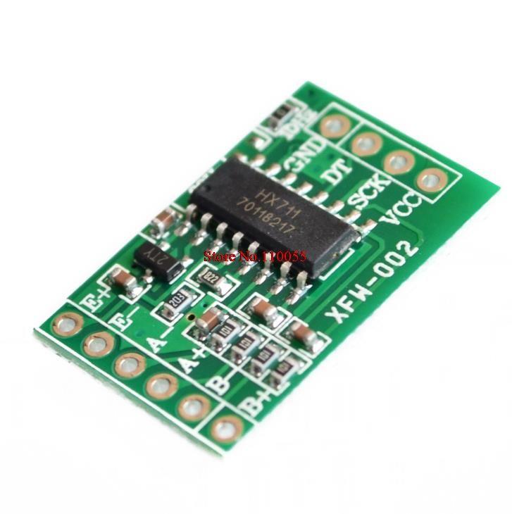 Wholesale-HX711 중량 센서 듀얼 채널 24 비트 정밀 A / D 모듈 압력 센서