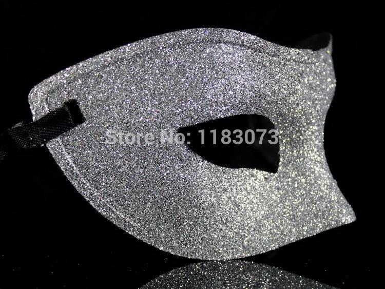 Glitter Spray Venice Masks Halloween Masquerade Party Costume Props Half Face Mask Three Color 20pcs/lot Free Shipping