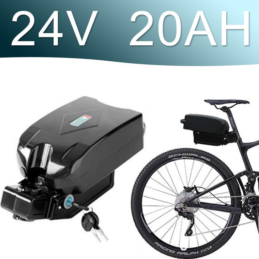 24V Li-ионная аккумуляторная батарея 24V E-Bike Литий-ионный аккумулятор обозревают г типовое