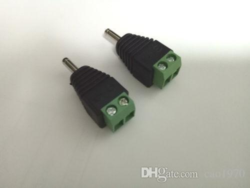 50 STÜCKE 2PIN 3,5mm x 1,3mm DC Power Ladegerät stecker Terminals für CCTV Kamera Notebook