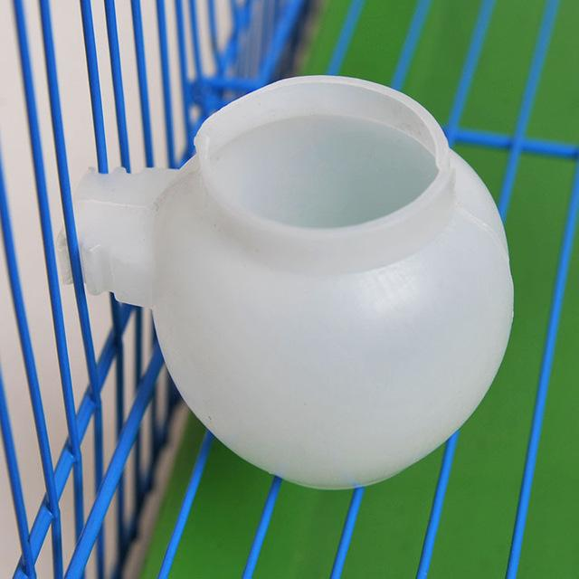 Bird water drink cup small animal Hamsters cage cup pet birds feeder canary cage facilities quail bird supplies