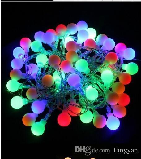 10m 100 Led 배터리 전원 Led 공 문자열 빛 요정 빛 홈 호텔 크리스마스 바 파티 공 결혼식 행사 장식