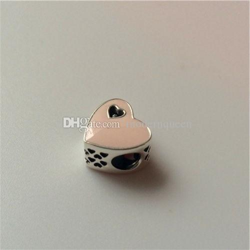 L'argento sterling dentellare del cuore misura per i braccialetti di stile di Pandora che spedice liberamente 957H9