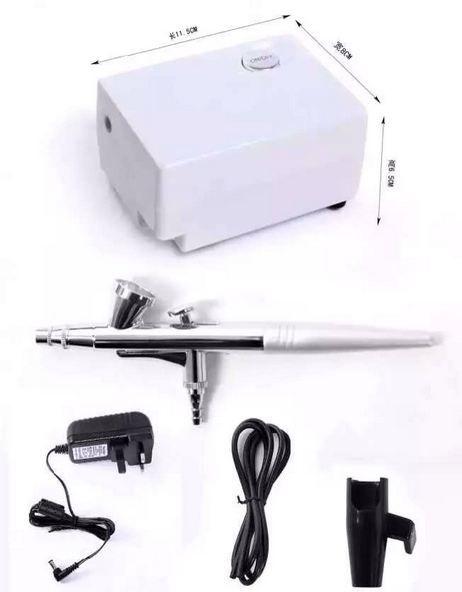 ossigeno jet ossigeno sistema di set trucco del viso macchina a spruzzo tatuaggio dispositivo aerografo per salone di bellezza