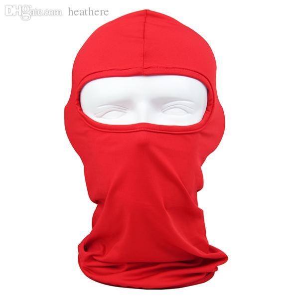 Atacado-Atacado Proteção Ao Ar Livre Full Face Lycra Balaclava Headwear Esqui Pescoço Ciclismo Motocicleta Máscara