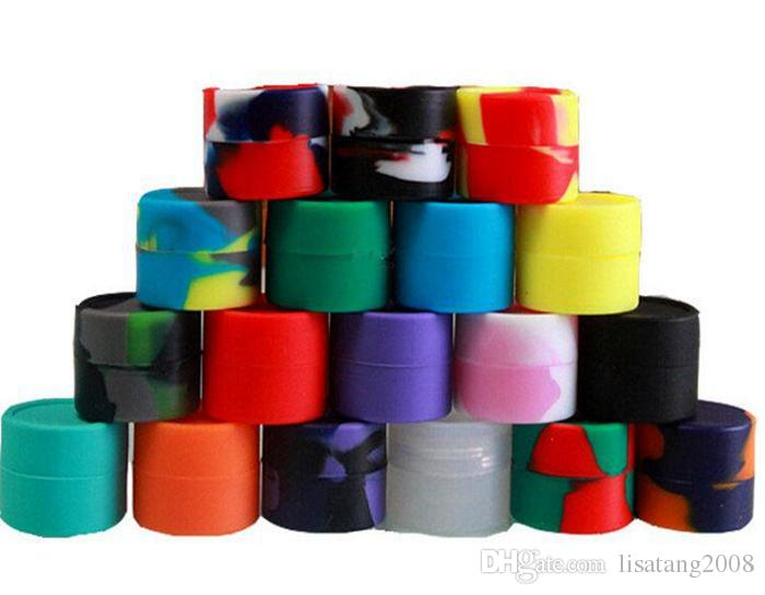 Silikon-Wachs-Box Wachs-Behälter Silikon-Gläser-Behälter Silikon-Contianer für Wachs-Silikon-Gläser Tupfen Wachsbehälter wiederverwendbar