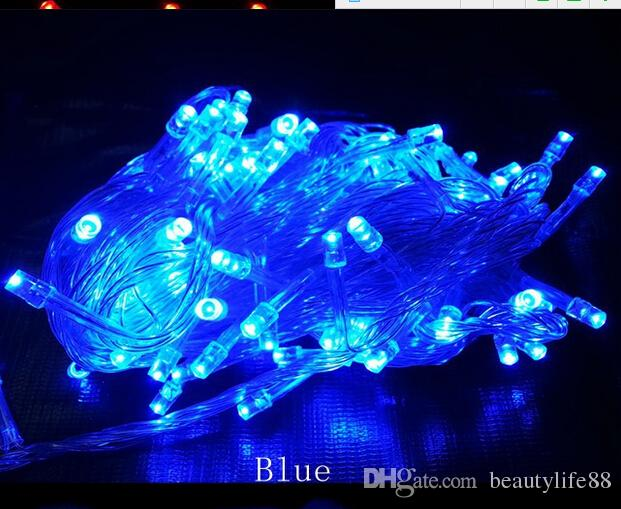 LED Lamp Set Festival Decoration Christmas Lights Wedding Waterproof Outdoor  Star Lights 20M200LED 4 ...