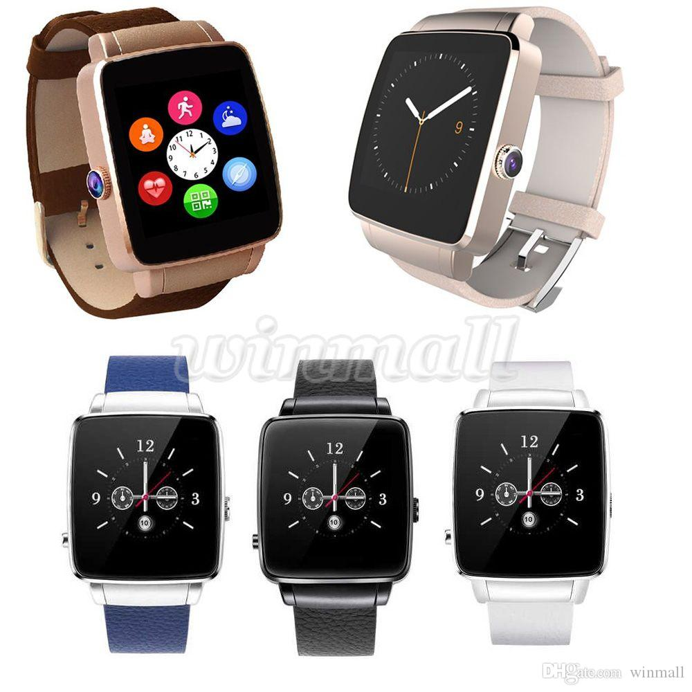 1.54 inch IPS Arc Touch Screen X6 bluetooth Smart Watch With Camera SIM Card Watch Phone For IOS Android Phone