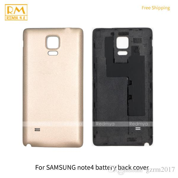 new style eb992 46b0e 2019 Housing For Samsung Galaxy Note 3 Note 4 Battery Cover Back Housing  Full Back Cover Door Rear Case Phone Parts Note3 Note4 From Gzrm2017, $1.34  | ...