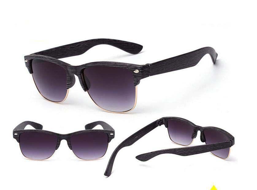 Европа модные поляризованные солнцезащитные очки солнцезащитные очки для мужчин Женщины Wild Wild Wood зерна наружные очки солнцезащитные очки 7 цвет бесплатно Отправить DHL