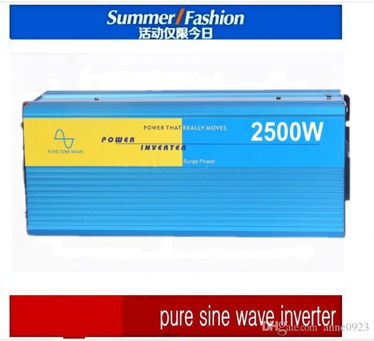 뜨거운 판매 3000 와트 Sinus omvormer 순수한 사인파 인버터, dc에서 AC 순수한 인버터 3000W 태양계에 대한 피크 6000W