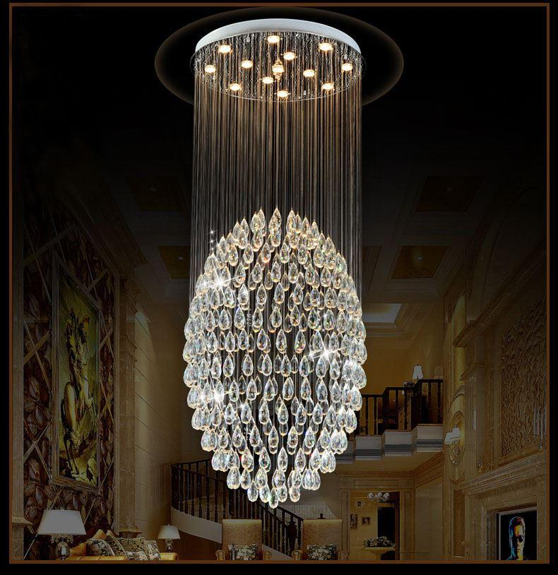 Modern k9 crystal led chandelier big circle clear crystal ceiling wow look at these amazing vintage chandeliers how gorgeous they are you can definitely buy some of these fancy kitchen chandeliers for hotel office aloadofball Images