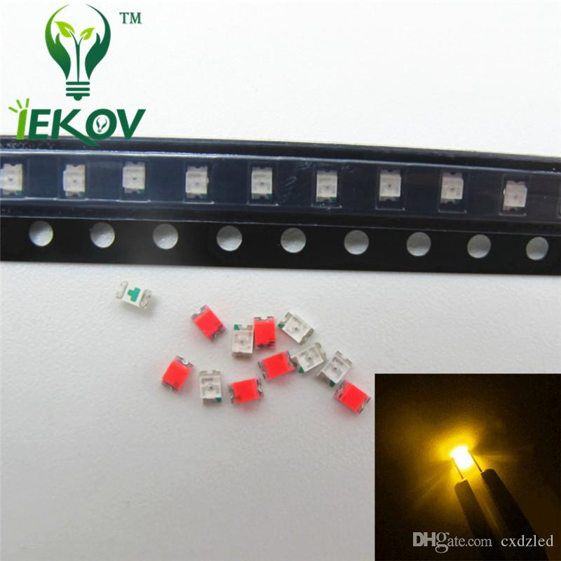 1000 pcs SMD SMT 0805 Super bright Red LED lamp Bulb GOOD QUALITY