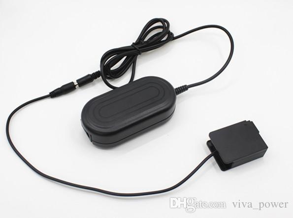 Frete Grátis DMW-AC8 + DMW-DCC8 Acoplador DC AC Power Adapter, alimentação da câmera para Panasonic Lumix DMC-GH2 GH2H