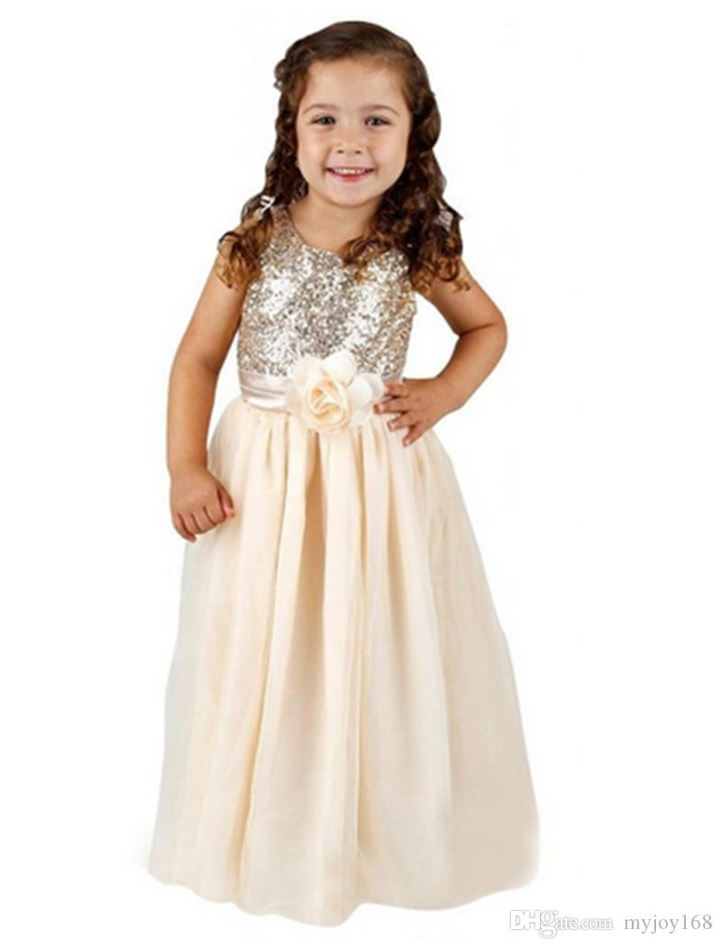 Free shipping! 2015 kids wedding dresses, Pageant Party Dresses girl ...