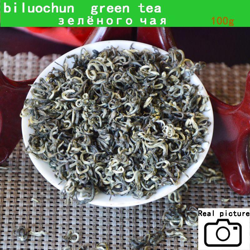 2021 nuovo tè buon grado superiore Biluochun famoso cinese cinese tè verde 100g primavera tè verde per il regalo di salute