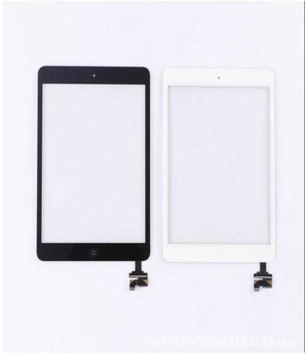 미니 터치 스크린 디지타이저 홈 버튼 Ic 칩 기본 접착 성 흰색 검정색 무료 교환 부품 Ic 어셈블리 교체