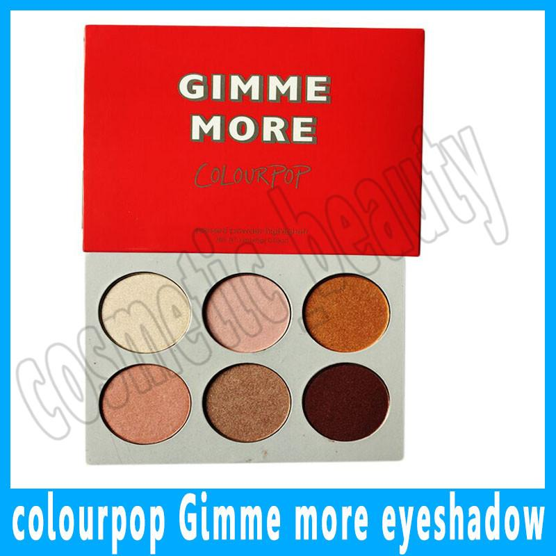 Colourpop I Like Your Face Gimme 6 Color Eyeshadow Contour Makeup Highlighter Eye Shadow Palette