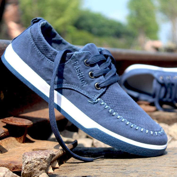New Fashion Casual Men Shoes Men Washed
