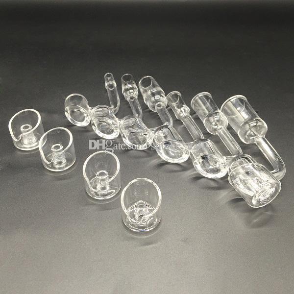 La vendita diretta della fabbrica libera il chiodo del quarzo del Banger di spessore 4mm con il cappuccio del carb del quarzo per i complessi dell'olio Bong dell'acqua di vetro trasporto libero