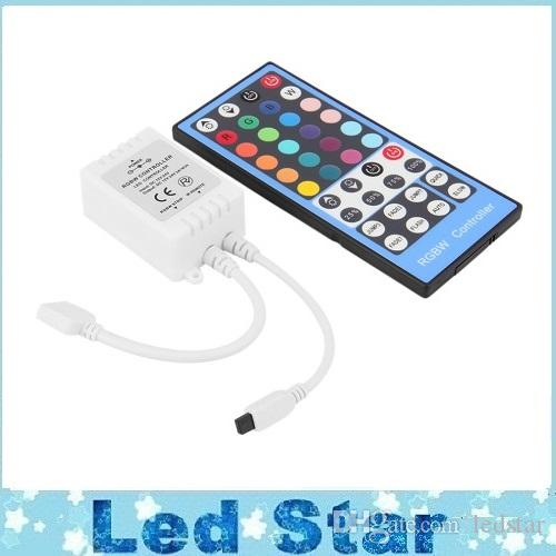 IR DC 12-24V 40-key LED RGBW RGBWW Remote Controller With touch screen remote For RGBW LED Strip Light