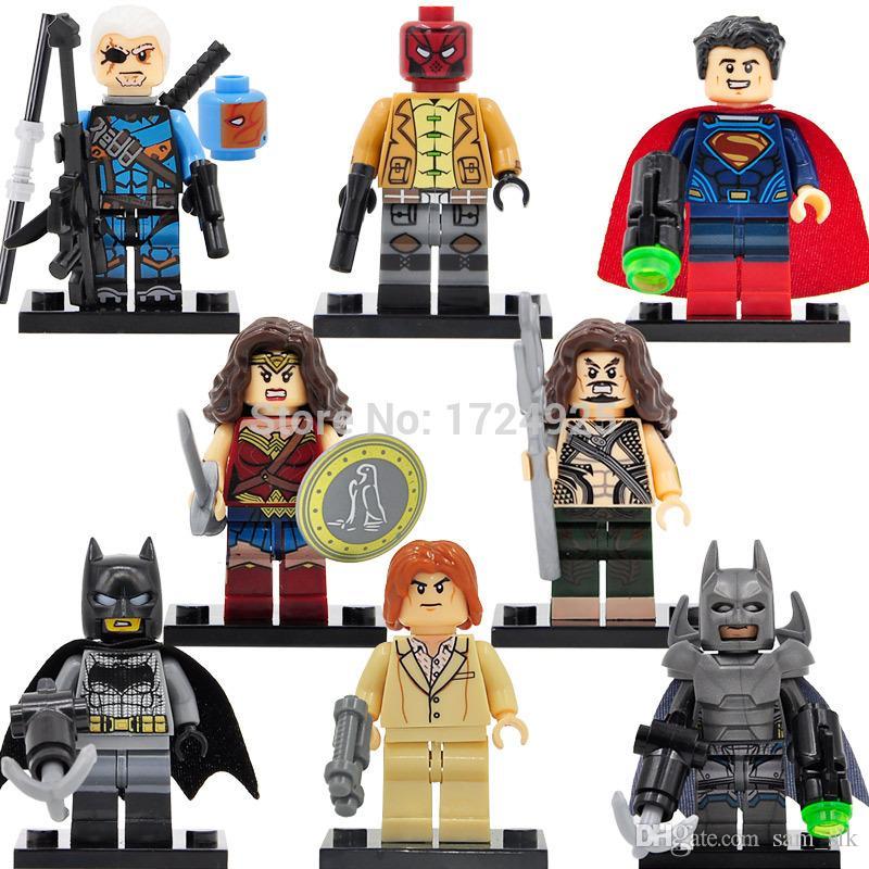 2020 Wholesale Dc Super Heroes Minifigures Batman Vs Superman Building Blocks Sets Model Bricks Toys Figures For Children From Sam Slk 52 27 Dhgate Com
