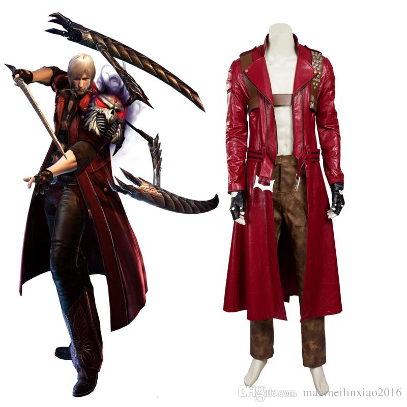 New Arrival Apparel Devil May Cry 3 Dmc3 Dante Cosplay Costume High Quality Unisex Trench Pants Canada 2019 From Manmeilinxiao2016 Cad 34 04