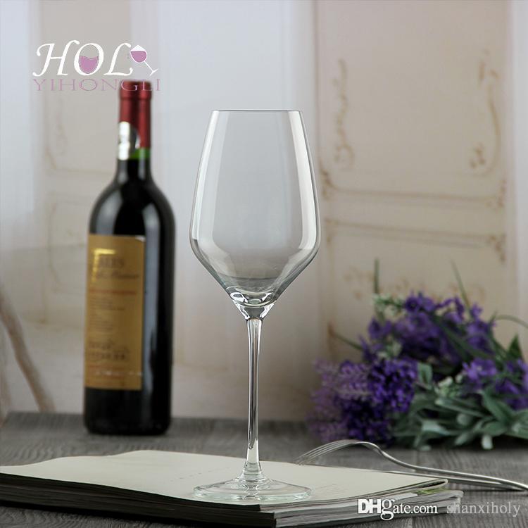 Bleifreies Kristall Weinglas kann individuell angepasst werden