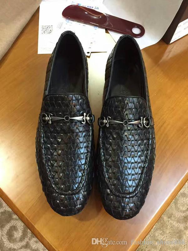 Moda, couro genuíno, sapatos de alta qualidade dos homens, calçados masculinos casuais, respirável, confortável, preto 38-44 frete grátis