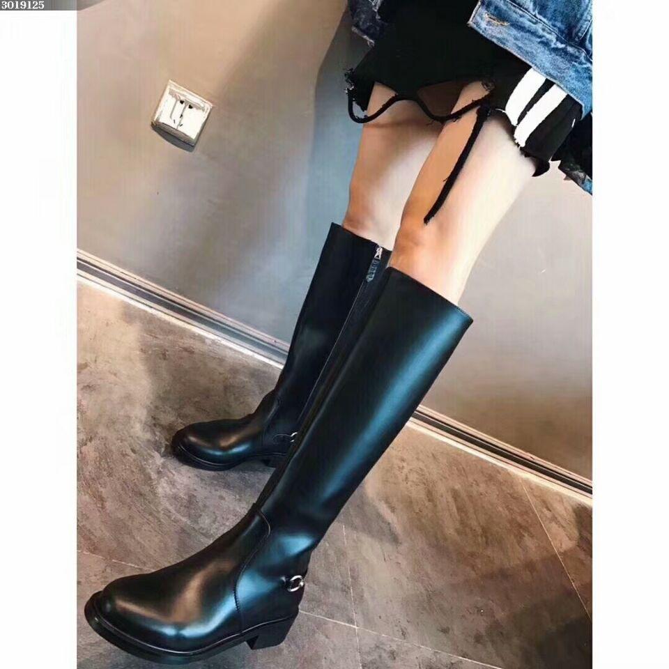 2019 Women High Boots Shoes Long Knee