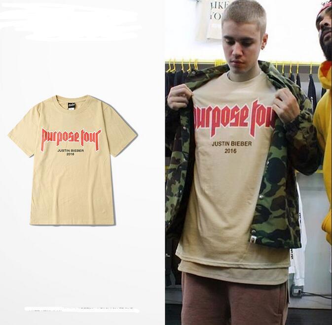 Justin Bieber T Shirts Khaki For Women Men Purpose Tour T Shirt 2016 My Mama Don T Like You Printed Tee Funny Tee Shirt Buy T Shirt Designs From