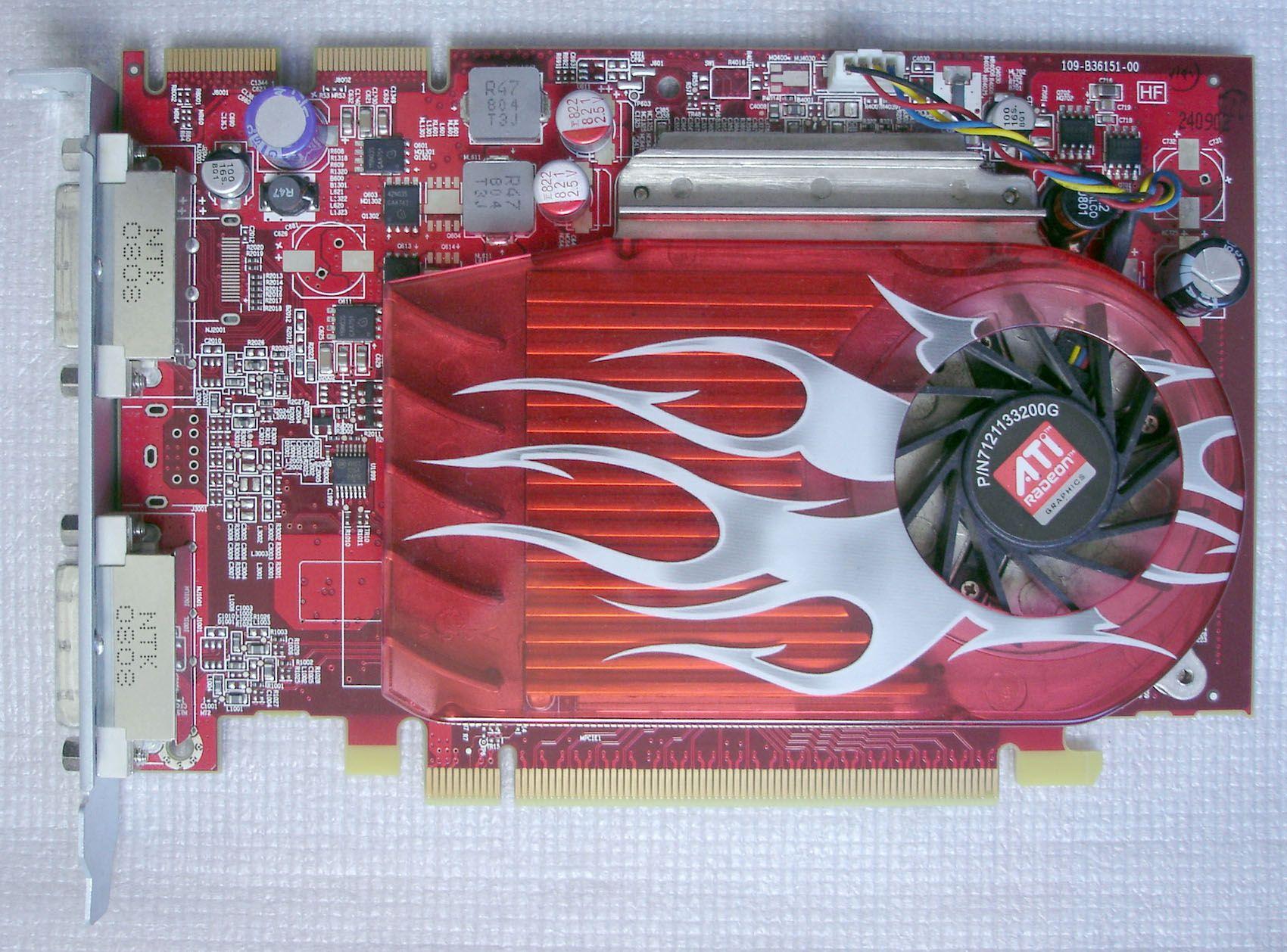 630-8924 630-9494/T0026 Radeon HD 2600XT RV630 256MB DDR3 PCIe Video Card for A1186 PRO Ma970