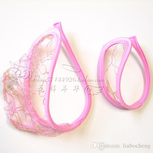 Roupa interior casal sexy Seamless C calças C-shaped calças invisíveis homens e mulheres tangas transparentes presente do Dia dos Namorados