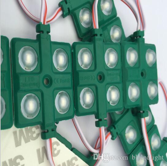 5730 4LEDS 렌즈, 다채로운 ABS 셸, DC12V, 5630 LED 모듈, 방수 IP65 4led 모듈 LED 모듈