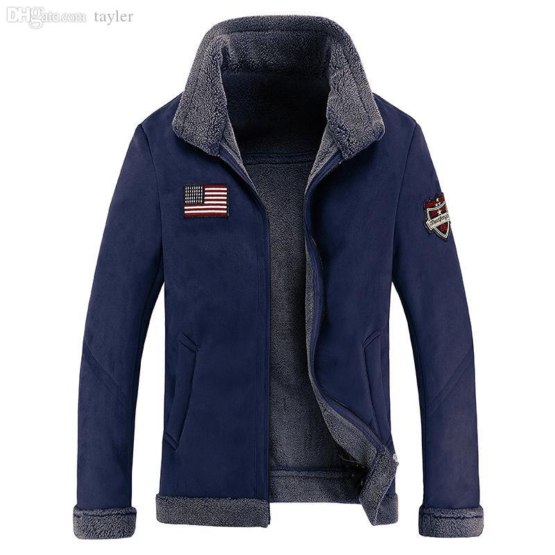 Herbst-2015 Mode Winter Dicke Jacken Männer Kanada Mantel Männer Dicke Lammwolle Stehkragen Mann Parkas M-3XL Camouflage Armee Stil