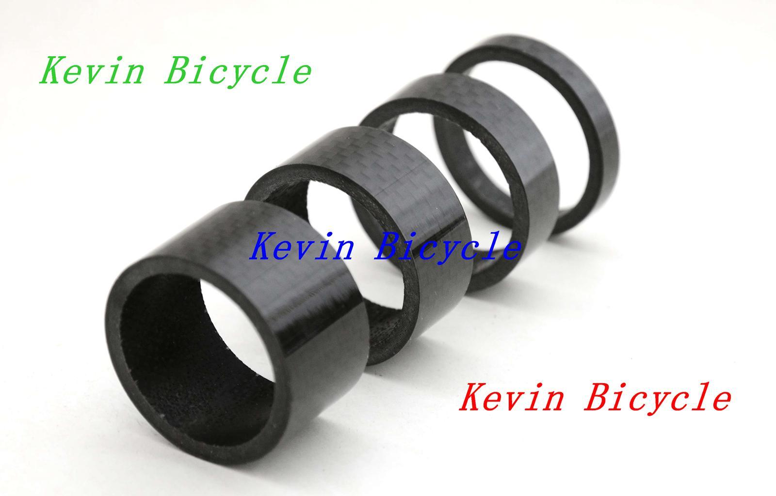 Full carbon bike headset spacer, ultra light, 4 pcs a set Fits 1-1/8