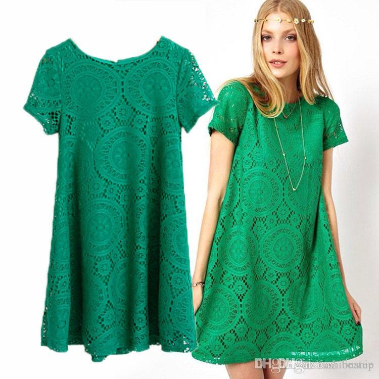 Oman Casual Dress 2016 Women Summer Dress New Lady Short Sleeve Plus