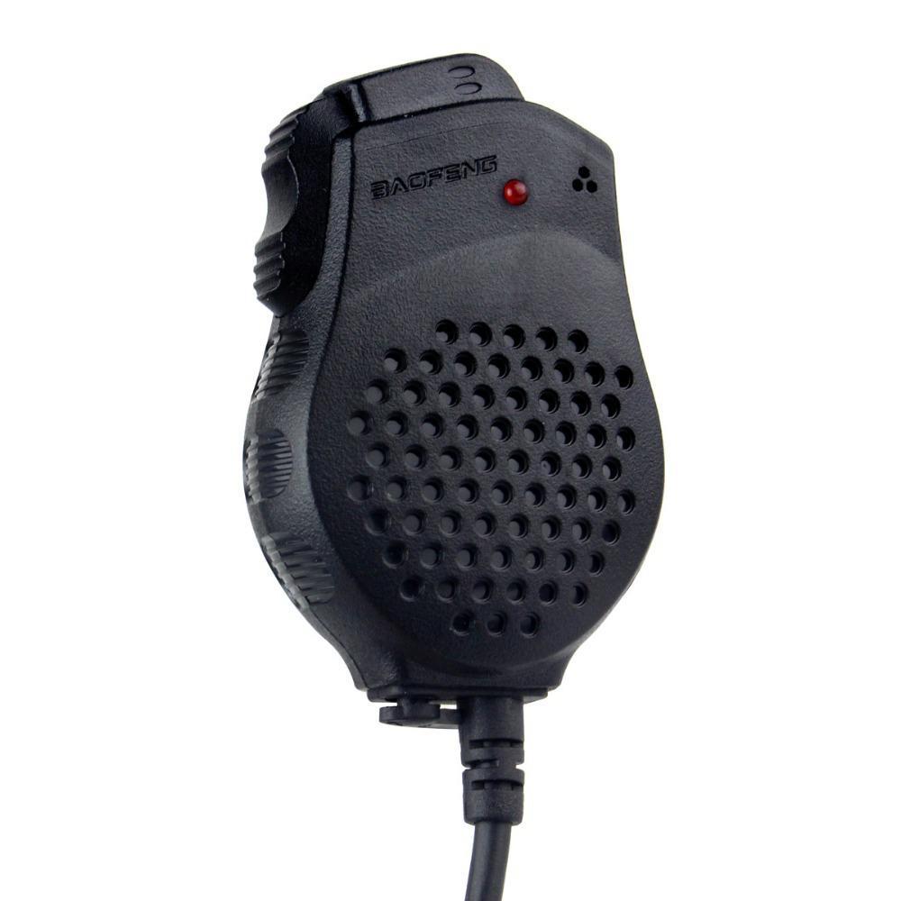 Original Baofeng Speaker Mic Microphone for Portable Radio Walkie Talkie UV-5R UV-5RE BF-UVB2 Plus BF-888S UV-B5 UV-B6 GT-3