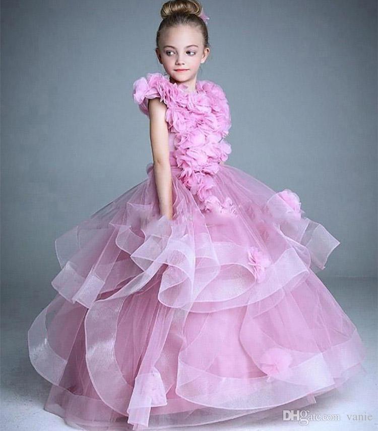Nf3 2018 Flower Fairy High Quality Flower Girl Dresses For Weddings ...
