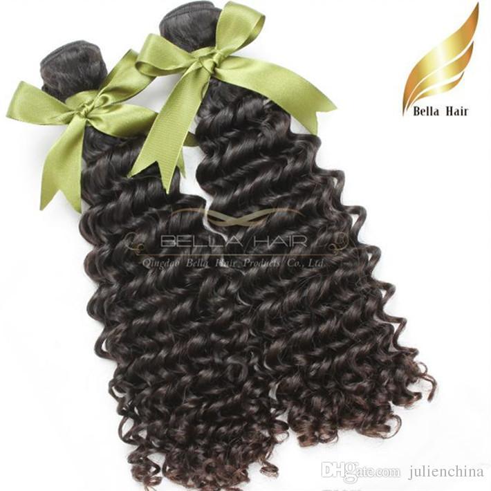 8A 100% Cheveux Malaisienne Couleur Naturel Deep Wave 2 Sztuk / partia Tkansy Couleur Możliwe Livaisons Gratuit