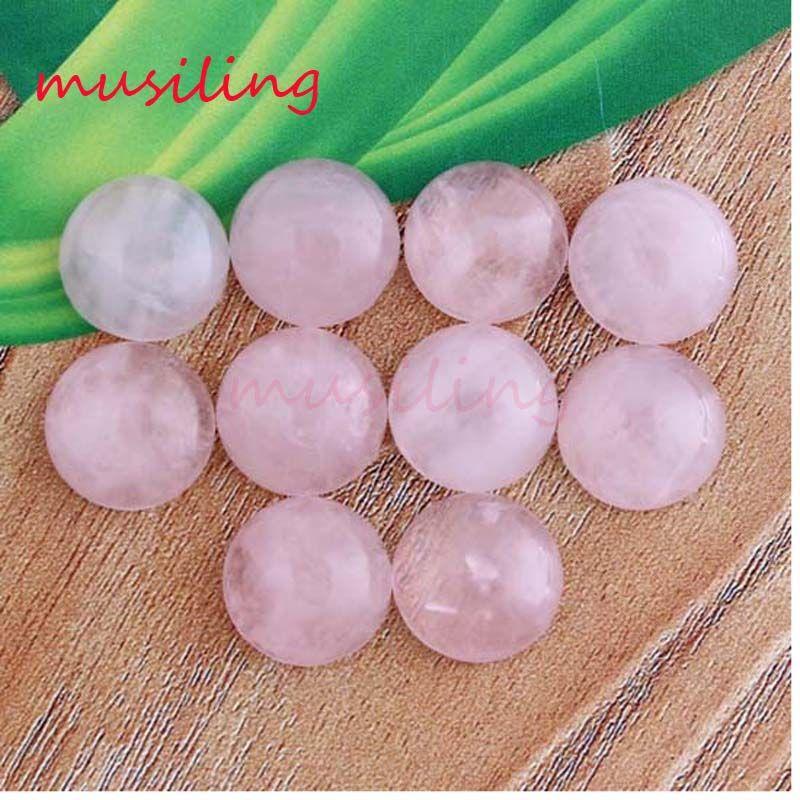 Branelli allentati di 12mm Perle piatte in pietra naturale Charms Accessori Perline fai da te per la produzione di gioielli Ametista Opale di cristallo opale agata ecc. Pietra