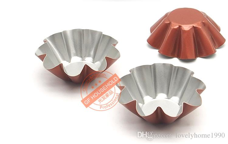 Cuocere all'uovo Acciaio Stampo High Whittford Carbon Mold + Tool Cake Tart Feumw