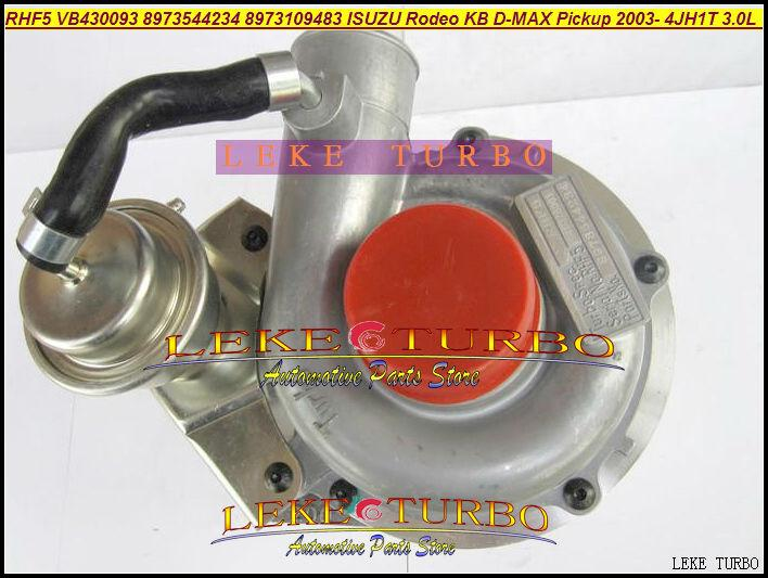 RHF5 VB430093 8973544234 8973109483 ISUZU Rodeo KB D-MAX Pickup 2003- 4JH1T 3.0L 130HP turbocharger (1)