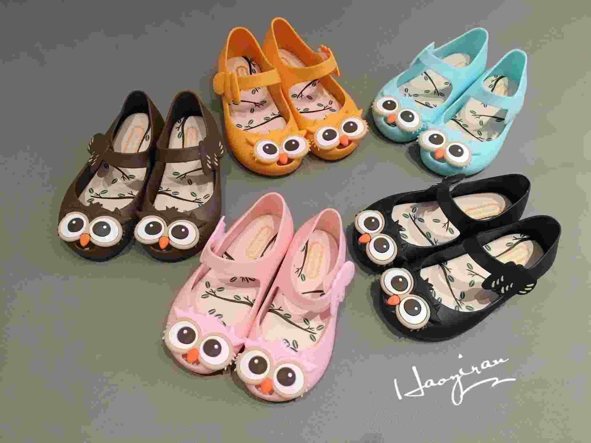 Mini Melissa Jelly Sandals For Baby Girls Children Sandalen Summer
