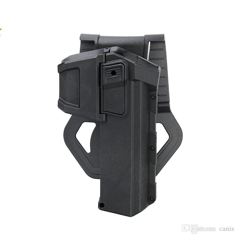Ppt المنقولة الحافظة التكتيكية بندقية مسدس الحافظة حزام بندقية الخصر الحافظة حماية ل g17 19 الصيد bk دي CL7-0057